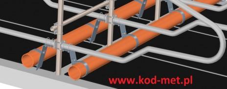 zamontowane mocowanie rury kolanowej 2 z www